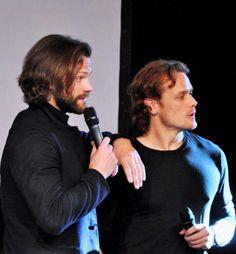 When favorite fandoms collide - Sam with Jared Padalecki (Supernatural) JIBLAND16