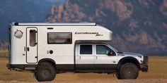 Ford F-550 Based EarthRoamers XV-LT Stretch (84 inch CA) - Length: 27 feet 10 inches, Wheelbase: 200 inches, Turning Circle: 57.8 feet
