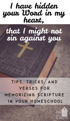 Why we practice homeschool scripture memorization, as well as scripture selections we've memorized this school year. Scripture Memorization, Nature Study, Reading Resources, Learning Through Play, Kids Songs, Parenting Advice, Homeschool, Epic Kids, How To Memorize Things