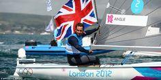 Ben Ainslie wins gold