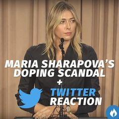 How Twitter Reacted To Maria #Sharapova 's Failed Drugs Test.