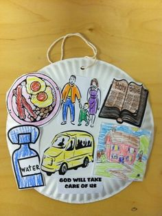 God as Provider - solo Children's Church Crafts, Vbs Crafts, Preschool Crafts, Sunday School Classroom, Sunday School Crafts, Moses Bible Crafts, Bible Study Lessons, Children Ministry, God Will Provide