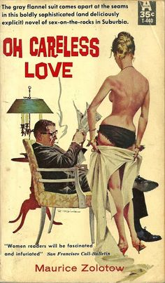 The cover of Adultery in Suburbia See the back here . Once upon a time, the term suburb referred to those areas on the outskirts. Arte Do Pulp Fiction, Pulp Fiction Comics, Pulp Fiction Book, Best Book Covers, Vintage Book Covers, Roman, Robert Mcginnis, Pulp Magazine, Pulp Art