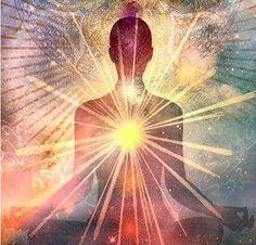 Art Visionnaire, Les Chakras, Body Chakras, Chakra Art, Meditation Art, Yoga Art, Mystique, Visionary Art, Sacred Art