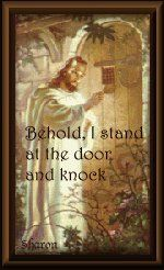 "He does not force His way in... ""Behold I stand at the door, and knock...""  He wants to be your savior..."