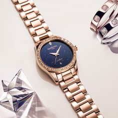 >> Click to Buy << 2017 New CARNIVAL Women's TopBrand luxury Hollow Stars Dial Crystal Inlaid Wrist Watch Rose Gold Steel Fashion relogio feminino #Affiliate