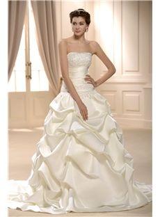 Princess Ball Gown Strapless Wedding Dress & vintage style Wedding Dresses