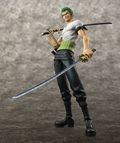 Excellent Model Portrait.Of.Pirates ONE PIECE NEO-DX Roronoa Zoro 10th LIMITED Ver. 1/8 Complete Figure