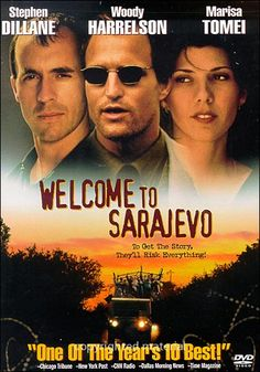 Welcome to Sarajevo - A startling examination of the Bosnian war of the and the role of journalists in covering it, this film was based on real-life journalist Michael Nicholson's book Natasha's Story. Movies About Writers, Movie List, Movie Tv, Stephen Dillane, War Film, Academy Award Winners, Cinema, Meet The Team, Bosnia