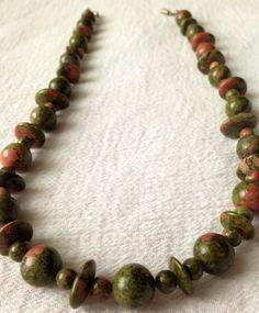 Unakike Beaded Necklace by JewelryJennyTraister on Etsy, $30.00