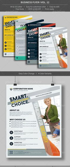 Download Free Business flyer volume 01 PSD