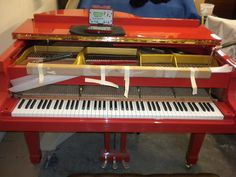 Yamaha, Piano, Music Instruments, Classic, Woods, Red, Derby, Musical Instruments, Woodland Forest