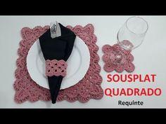 YouTube Cute Kitchen, Crochet Kitchen, Crochet Mandala, Crochet Videos, Crochet Designs, Diy And Crafts, Crochet Necklace, Stitch, Sewing