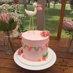 Stork theme Baby Shower cake
