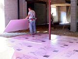 Finishing a Basement: Walls, Ceiling & Flooring (includes idea on insulation)
