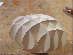 flat sliceform