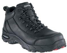 66392dc3d736 Reebok Mens Work Tiahawk Composite Toe Waterproof Boot Black 115 M     Be  sure