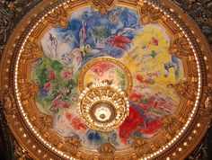 Marc Chagall - 1887 - 1985, 1964 Opéra Garnier, Paris, France