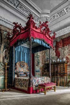 State bedroom ~ Burghley House