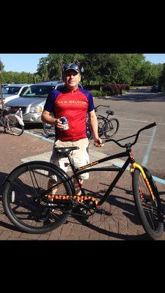 Felt Fat Tire Bike. City Park. Bayou Boogaloo Pub Crawl Ride 2014
