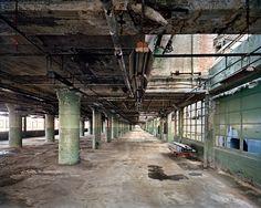Ford's Highland Park Plant #1, Loading Corridor Detroit, Michigan, USA, 2008 - Edward Burtynsky