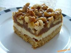 Sweet Recipes, Cake Recipes, Dessert Recipes, Czech Recipes, Good Food, Yummy Food, Fancy Cakes, Sweet And Salty, The Best