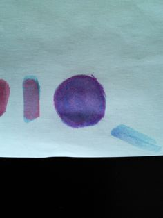 Percy's blood color, its like an indigo-ish color. I forgot what its actually called. @jinical (its the circle one not the other lines)