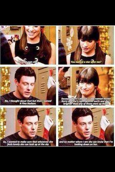 RIP Cory Monteith Glee- Finn and Rachel