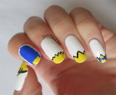 The Simpsons Nails @Melissa Squires Squires Morris think u can do?