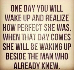 No joke. Women, don't ever wait for the man. If he can't step it up, get someone who will.
