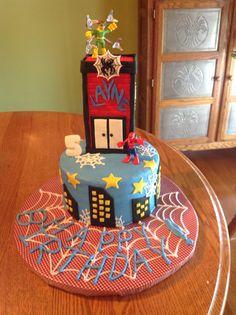 My Nephew's 5th Birthday Cake