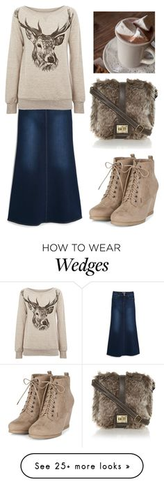 """Pentecostal outfits"" by lizzie2461 on Polyvore featuring MANGO and Warehouse"