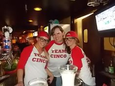 #cinco style #bartenders #Friday night #rocking it out