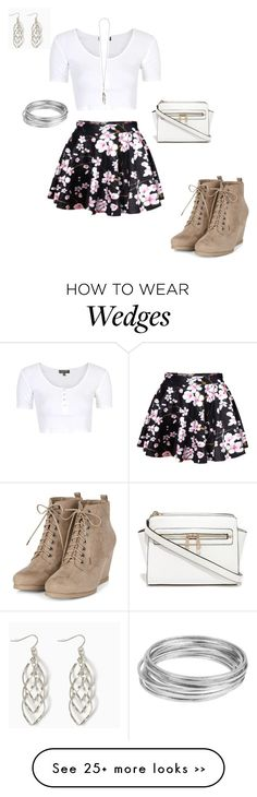 """""""Untitled #476"""" by summerloveforever335 on Polyvore featuring Topshop, Worthington and Ann Demeulemeester"""