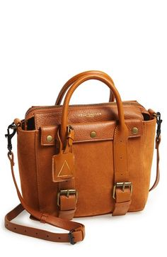 Free shipping and returns on Kelsi Dagger Brooklyn 'Heritage' Bike Bag at Nordstrom.com. Gleaming hardware furthers the cool, utilitarian vibe of a suede and leather satchel detailed with twin belted straps.