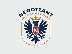 Logo Negotiant International http://ift.tt/2eGIcIH #Veronika Žuvić