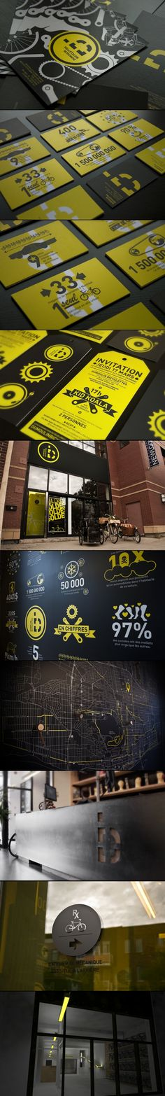 Dumoulin Bicyclettes | Sébastien Bisson Brand identity and signage for a Montreal based urban bike shop, Dumoulin.