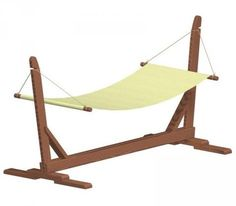 Hammock stand - Free woodworking plan