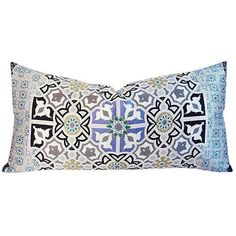 Italian Silk Andalusian Moorish Pillow ($225) ❤ liked on Polyvore featuring home, home decor, throw pillows, pillows, lumbar throw pillow, silk throw pillows, feather filled throw pillows and silk accent pillows