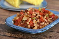 Spicy Black-Eyed Peas With Tomatoes and Peppers