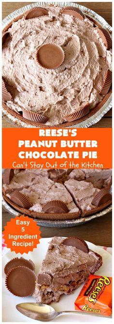 Chocolate Pie Recipes, Vegetarian Chocolate, Chocolate Peanut Butter, Chocolate Desserts, Easy No Bake Desserts, Delicious Desserts, Dessert Recipes, Traditional Easter Desserts, Cheesecake Desserts