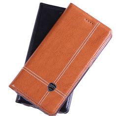 "For Samsung Galaxy A7 2017 A720 5.7"" Case Cover, Crazy Horse Flip Genuine Leather Case Cover For Samsung A7 2017 Phone Cases"