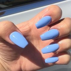 Sublime couleur de vernis à ongles tendance 2018 Sublime color nail polish trend 2018 Related posts: # sargans purple with gray coffin nails Ÿ . Perfect Nails, Gorgeous Nails, Blue Acrylic Nails, Pastel Blue Nails, Blue Coffin Nails, Blue Gel Nails, Acrylic Nails With Design, Blue Nails With Glitter, Sns Nails Colors