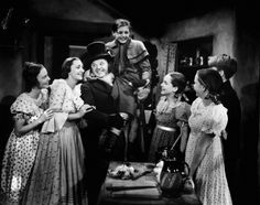 The Lockharts make a convincing Cratchit family (their own children also played some of the Cratchit kids, except for Kilburn, who is excellentas Tiny Tim). Description from cinematicfrontier.wordpress.com. I searched for this on bing.com/images