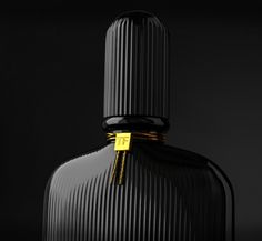 Work to produce the Tom Ford Black Orchid perfume bottle in experiment with rendering and how the lighting reacts to the bottles surface while maintaining the dark, luxurious style Tom Ford is respected for. Id Design, Design Trends, Pattern Design, 3d Pattern, Detail Design, Plate Design, Black Packaging, Packaging Design, Le Manoosh