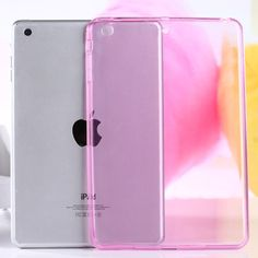 Top Quality Smooth TPU Soft Transparent Case Cover Skin Protector for Apple iPad Mini 1 2 3 Luxury Tablet Bags Ipad Mini, Accessoires Ipad, Coque Ipad, Clear Silicone, New Ipad, Apple Ipad, Cover, Iphone Cases