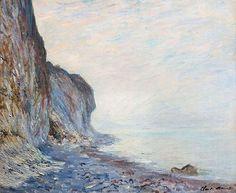 Falaise (C Monet - W 789),1882.