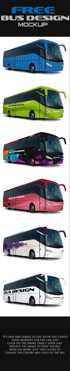 Free Mock-up Bus Design (34.26 MB) By Rogerio Marcons on Behance | #free #photoshop #mockup #bus