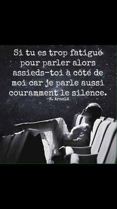 Atypique silence Love Days, French Quotes, Some Words, Motivation, Amazing Quotes, Sentences, Slogan, Quotations, Affirmations