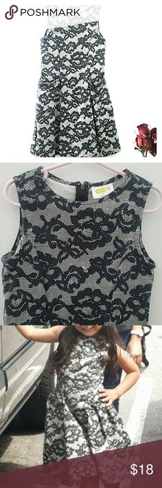👗Girly dress👗 *Beautiful soft dress with pockets in front.   *Worn a few times  *Guaranteed compliments 😉  *97% Cotton 3% Spandex  *Color is a dark blue/gray color Crazy 8 Dresses